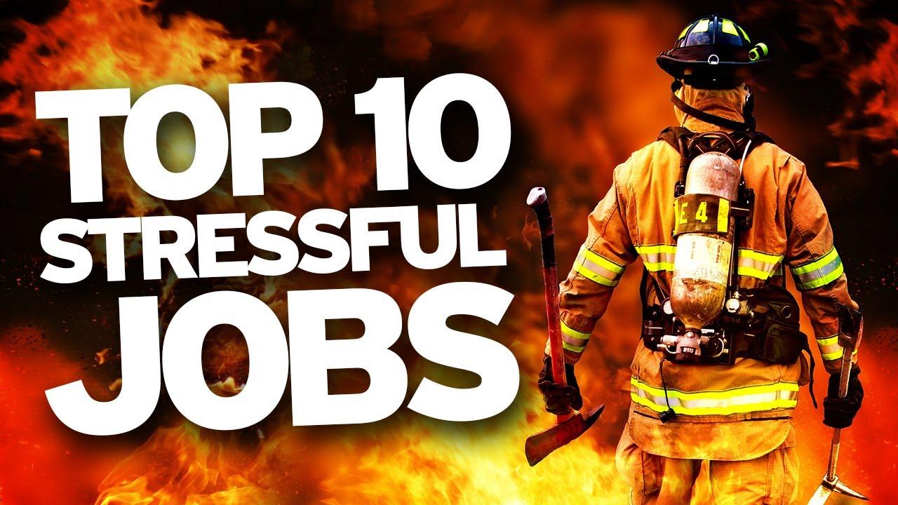 ده شغل پر استرس