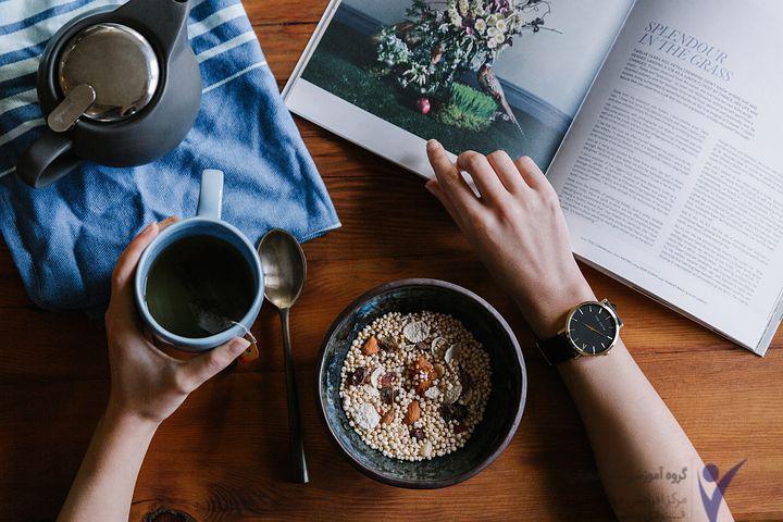 تأثیر تغذیه بر استرس