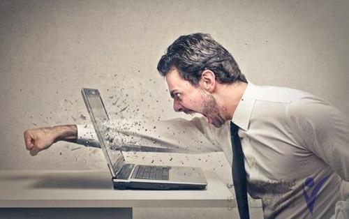 تاثیر خشم بر کار
